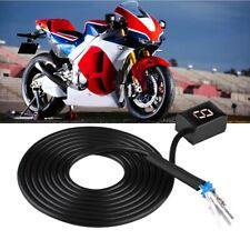 Motorcycle Gear Indicator 6 Speed Digital Shift Lever Sensors for Honda Black