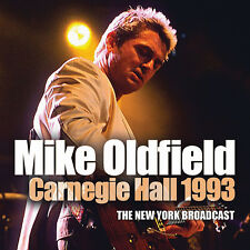 MIKE OLDFIELD New Sealed 2020 UNRELEASED CARNEGIE HALL LIVE 1992 CONCERT CD
