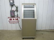 Lockwood Aluminum 15 Slide Enclosed Bakery Sheet Pan Cabinet Plexiglass Door