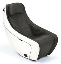 New Synca Sl Track Heat Therapy Burnt Coffee Compact Massage Chair