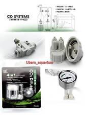 Complete DIY CO2 system kit generator planted aquarium 4 in 1 co2 diffuser D201
