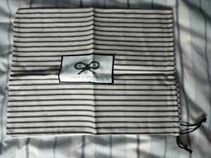 Anya Hindmarch Dustbag Striped Travel Pouch 30cm x 35cm