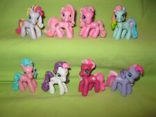 My Little Pony PONYVILLE 8 Mini Figures LOT G3 Characters