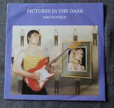 Mike Oldfield, pictures in the dark / legend, SP - 45 tours