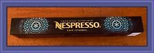 NESPRESSO ~ CAFE ISTANBUL ~ LIMITED EDITION  ~ ORIGINAL LINE ~ 1 SLEEVE/10 PODS