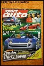 Sport Auto 11/99 Ferrari F50 Zender Mitsubishi Carisma