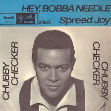 """CHUBBY CHECKER – Hey, Bobba Needle (1964 VINYL SINGLE 7"""" DUTCH ARTONE PS)"""