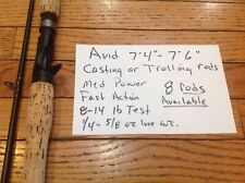 Avid casting or trolling rod med power and med.lite