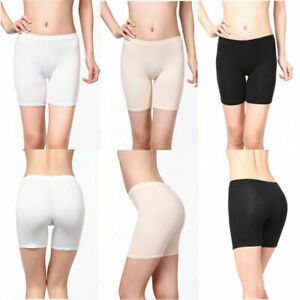 Women Elastic Soft Safety Under Shorts Leggings Pants Anti Chafing size UK 8-20