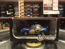 Hpi Racing 2006 Subaru Impreza WRC Solberg Mills #5 Japan 1/43 Read Description