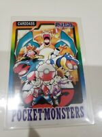 Pokemon Carddass Bandai Special list card Part4 1997 Charizard Red Green Japan