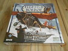 ELDRITCH HORROR - Las Montañas de la Locura - expansión - EDGE - juego de mesa