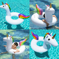 Inflatable Swim Pool Floats Unicorn Raft Swimming Fun Kid Water Sports Beach Toy