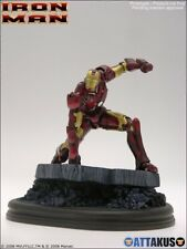2008 MARVEL IRON-MAN MOVIE COLLECTIBLE STATUE ATTAKUS Out Of 699 MIB