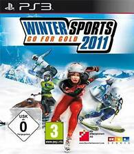 Sony PS3 Playstation Spiel ***** RTL Winter Sports 2011 Go for Gold *****NEU*NEW