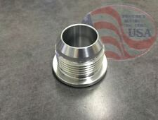 16 AN MALE BILLET ALUMINUM WELD ON FITTING BUNG MADE IN THE USA
