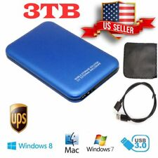USB 3.0 3TB 2.5 inch SATA Hard Drive Disk External Enclosure Case For Laptop PC