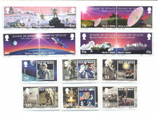 Isle of Man-Space-Man on the Moon 2 sets mnh
