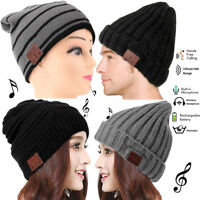 Beanie Hat with Bluetooth Headset Wireless Headphone Stereo Speaker For Boy Girl