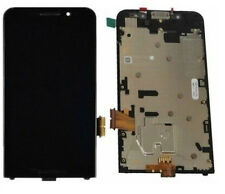 GL DISPLAY LCD+TOUCH SCREEN per BLACKBERRY Z30 4G NERO+FRAME METAL RICAMBI NUOVO