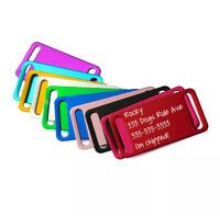 Personalized Dog Tag, Pet Tag, Dog ID Tag, Dog Collar, Custom Tag, Slide-On Tag