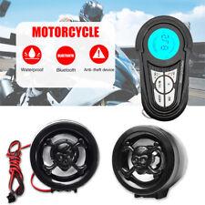 Motorcycle Bluetooth Audio Radio Sound System Stereo Speakers USB MP3 Waterproof
