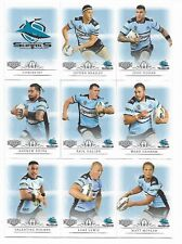 2018 NRL Elite Cornulla-Sutherland SHARKS 9 Card Mini Team Set