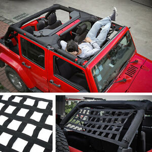Roof Net Black For Jeep JK 2007-2018 Replacement Auto Accessories AU STOCK
