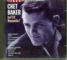 CHET BAKER *JAZZ HOUR WITH CHET BAKER* ISN'T IT ROMANTIC CD* IMPORT* BELGIUM*
