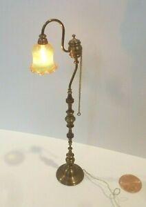 SCOTT HUGHES DOLLHOUSE MINIATURE FLOOR LAMP BY SCOTTS LIGHTING