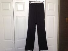 Missoni cotton size 4 wide black pants Italy