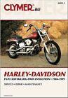 1984-1999 Harley Davidson FL FX Softail CLYMER REPAIR MANUAL M421