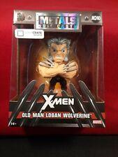 Jada Die-Cast Metal Old Man Logan Wolverine M240 Loot Crate Exclusive Figure New