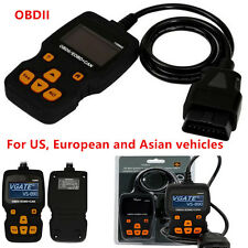 Portable VS890S OBDII OBD2 Car Code Reader Support Multi-Brands Cars 2017 Latest