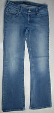 LEVIS BOOTCUT JEANS GENUINELY CRAFTED FADED Stonewashed BLUE STRETCH LOW W31 L30