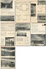 1956 School For Deaf Children, Heston Design, Plans