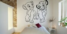 Vinyl Wall Decal Sticker Decor Nursery Lion King Simba DIsney Cartoon Nala O204