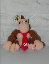 "NINTENDO Collectibles Donkey Kong Beanbag Character N64 1997 7"" Plush NWT"