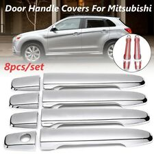 Chrome Door Handle Covers Trim For Mitsubishi Outlander Sport RVR / Lancer 07-14
