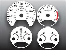 1998-2002 Honda Accord Sedan White Face Gauges 98-02