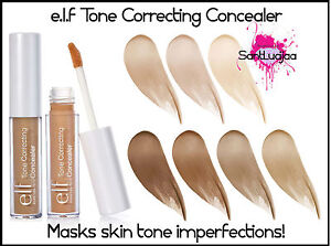 ELF E.L.F PERFECT BLEND TONE CORRECTING CONCEALER COVER WAND HIGHLIGHT BLEMISH