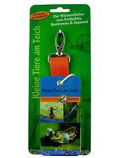 😊 Kinder Expedition Natur - Bestimmungsfächer Kleine Tiere am Teich