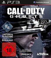 Call of Duty: Ghosts -- Limitierte Ausgabe (Sony PlayStation 3, 2013, DVD-Box)