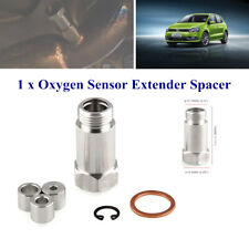 Straight Adjustable O2 Spacer Oxygen Sensor Extension Polished Tool M18x1.5 Type
