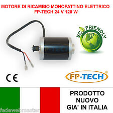 MOTORE DI RICAMBIO MONOPATTINO ELETTRICO 24 V 120W E-SCOOTER BICICLETTA