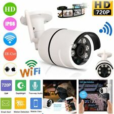 720P HD Outdoor Wireless Wifi Security IP Camera Network IRCUT Night CCTV Webcam
