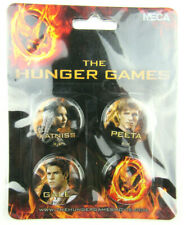 The Hunger Games - Pin Set of 4 Cast - NECA New on Card