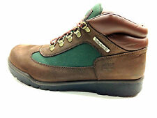 Timberland Field Boot Leather Brown Nubk w/Olive Green Size 8-8.5 US.