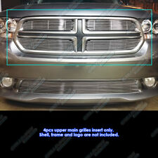Fits 2011-2013 Dodge Durango Main Upper Billet Grille Grill Insert