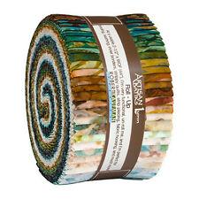 Kaufman Batik Fabric Strips Jelly Roll Rollup, TAVARUA, RU-843-40
